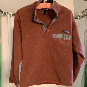 Vintage Patagonia Synchilla Small - Brown Fleece